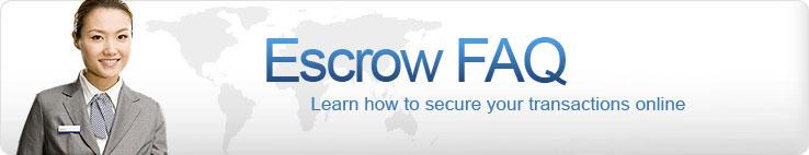 Escrow FAQ
