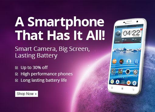 Smart Phones, Up To 30% Off