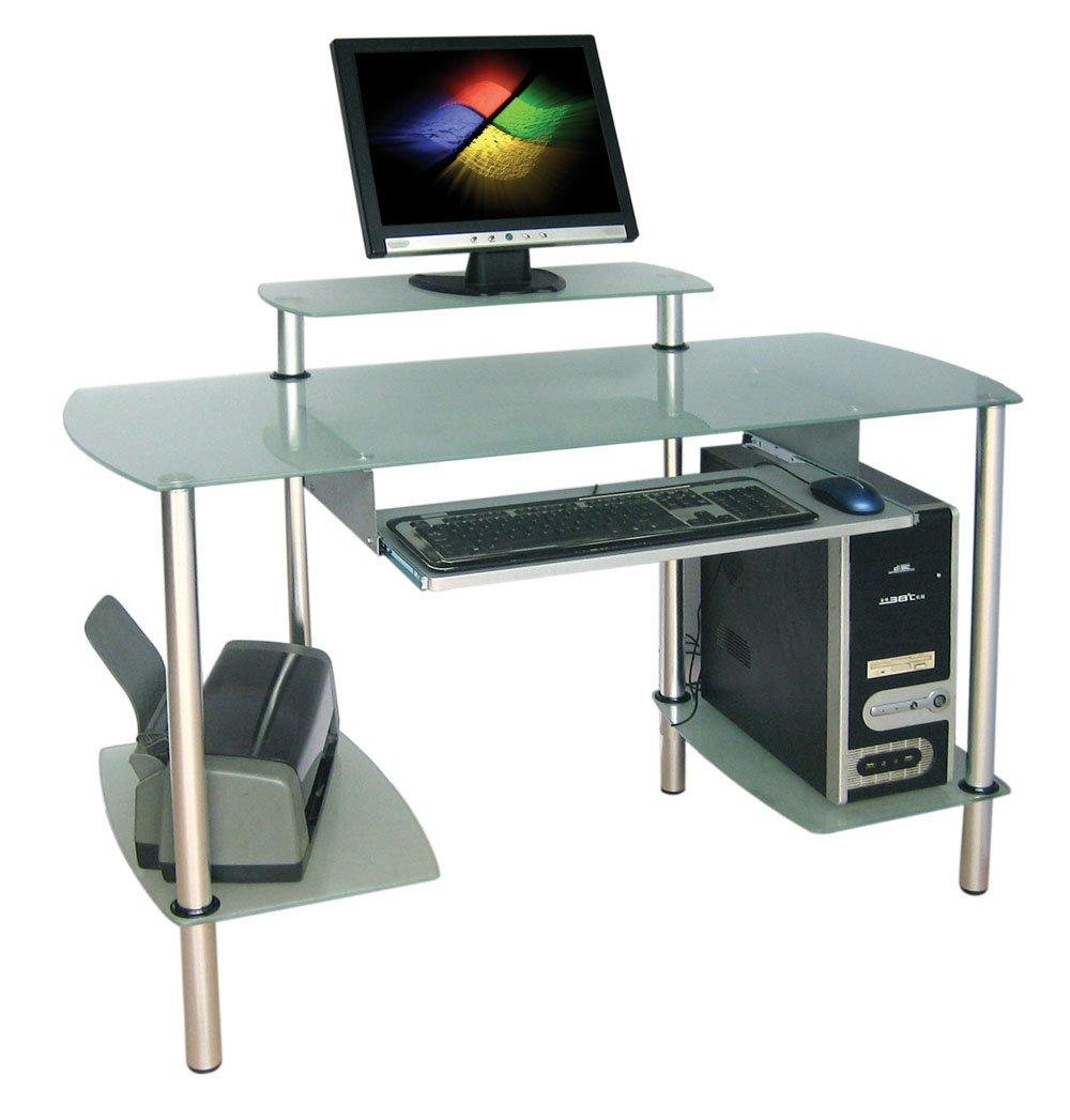 Muebles vidrio para computadora 20170729160249 - Mesa ordenador cristal ...