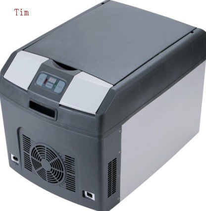Mini Fridge with temperature control and display 28L